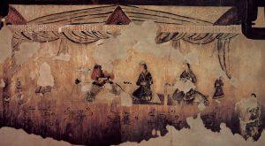 Teenjuontia korealaisessa maalauksessa n. 600-luvulta