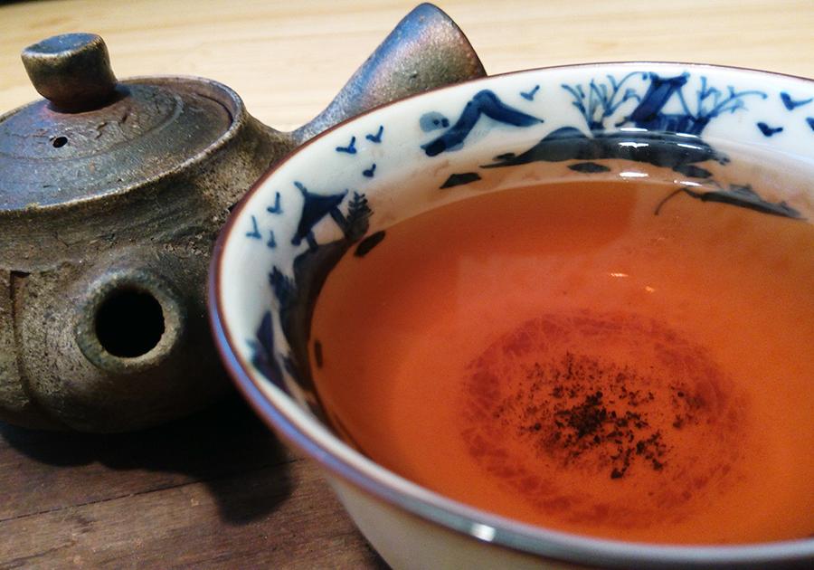 chun ming xin xiang 2013 shu puerh tee teekakku